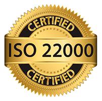 Chứng nhận đạt tiêu chuẩn ISO 22000