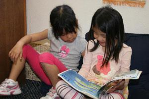 Nhạy cảm tập đọc (từ 4 đến 5,5 tuổi)