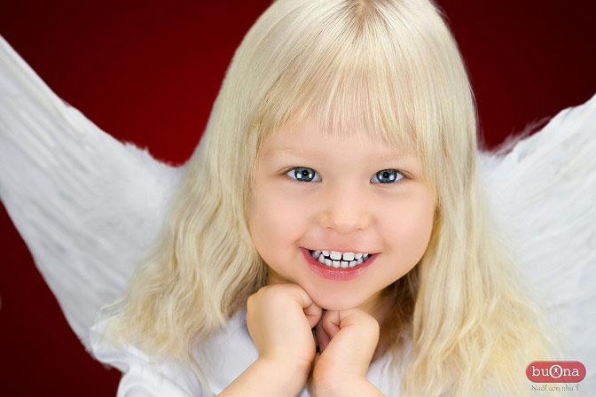 BUONA chăm sóc sức khỏe trẻ em - những thiên thần của thế giới hiện đại.