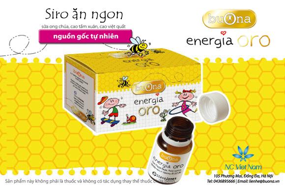 Sirô ăn ngon Buona Energia Oro