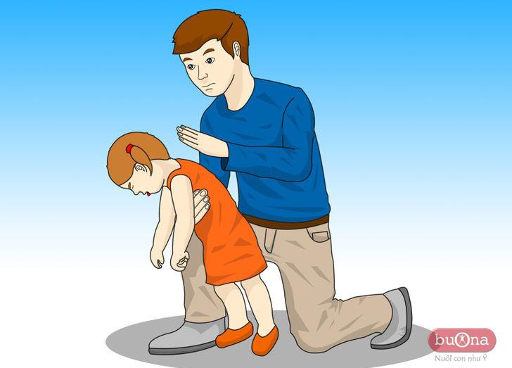 sơ cứu trẻ bị hóc dị vật, nghẹt cổ