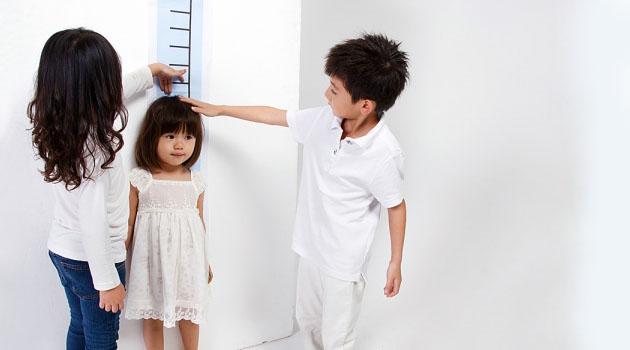giải pháp cho trẻ thấp còi
