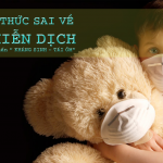 Sai lầm kiến thức về hệ miễn dịch trẻ em
