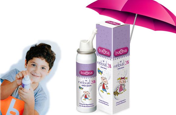 Bình xịt mũi Nebial 3% Spray