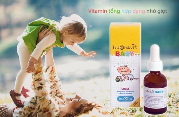 Vitamin nhỏ giọt Buonavit Baby