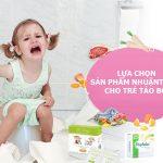 Thuốc nhuận tràng điều trị táo bón cho trẻ em
