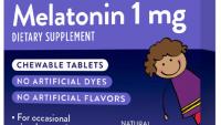 Ngủ ngon Melatonin cho trẻ em